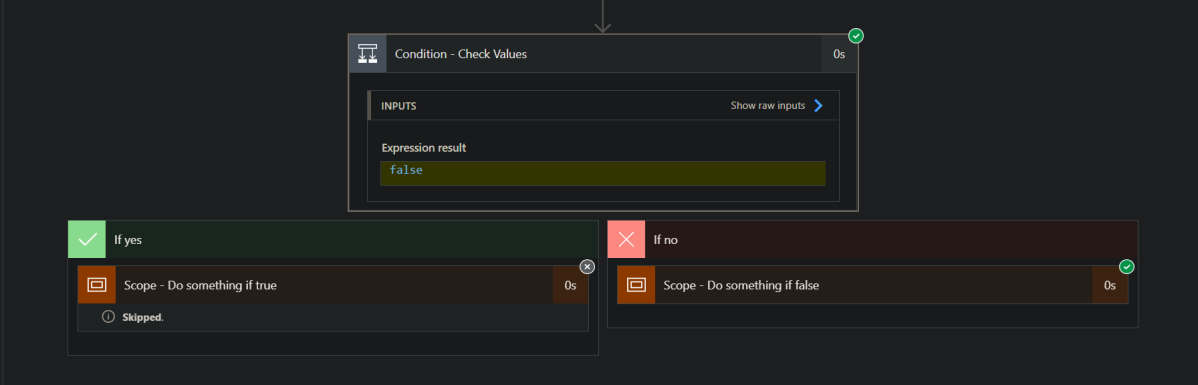 Check Conditions In Power Automate DuringRun